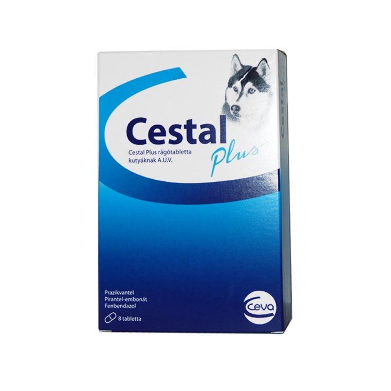 Cestal Plus Dog Flavour, 8 tablete imagine