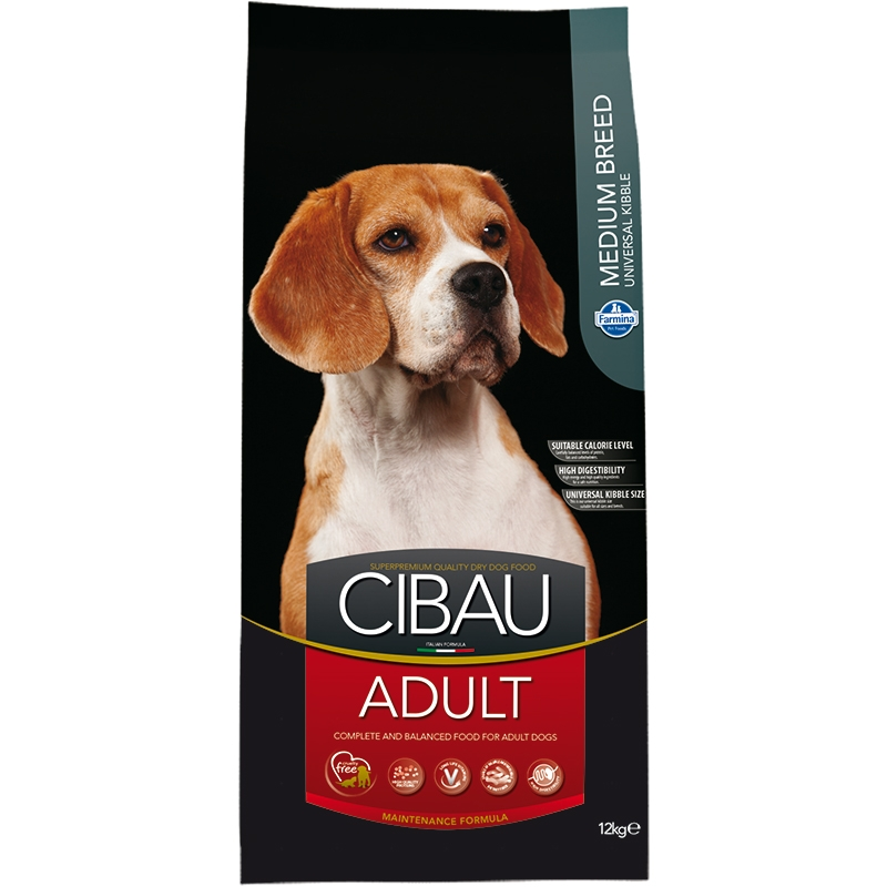 Cibau Dog Adult Medium 12 Kg imagine