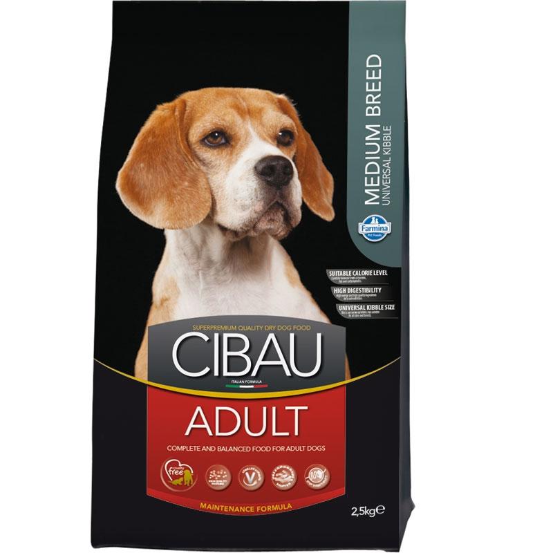 Cibau Dog Adult Medium 2.5 Kg imagine