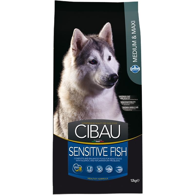 Cibau Sensitive Fish Medium/Maxi 12 kg imagine