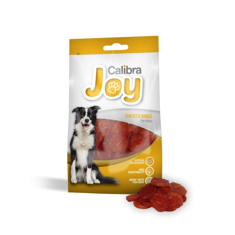 Joy Treats DOG Chicken Rings 80 g imagine