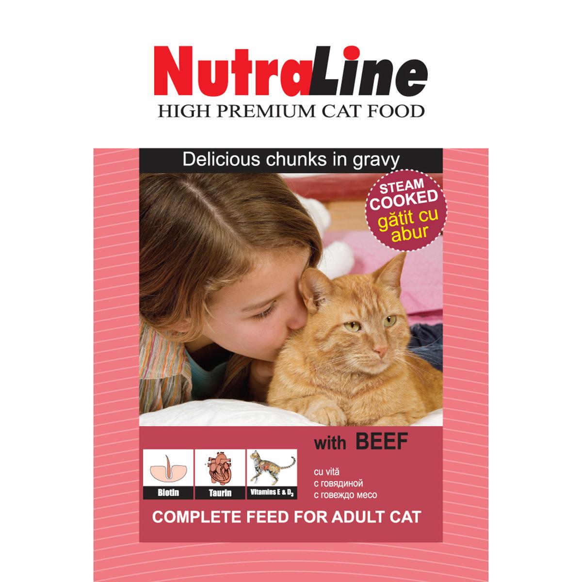 Nutraline Classic Pisica Vita, 100 g