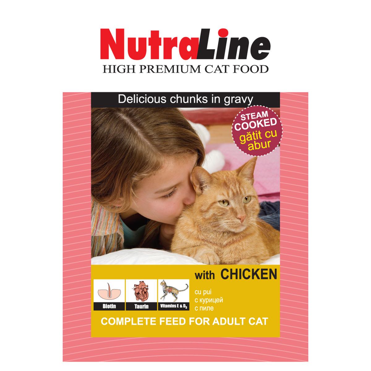 Nutraline Classic Pisica Pui, 100 g