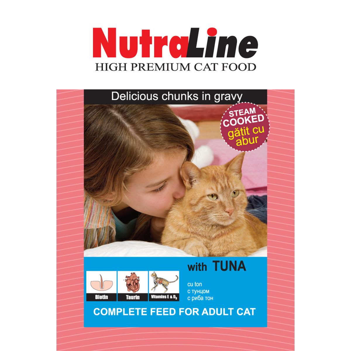 Nutraline Classic Pisica Ton, 100 g imagine