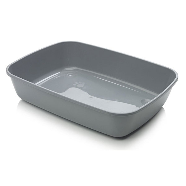 Litiera Pet Expert Cleany Basic 42cm Grey imagine