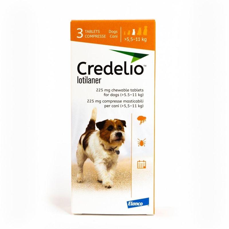 Credelio 225 mg (5.5 - 11 kg), 3 tablete imagine