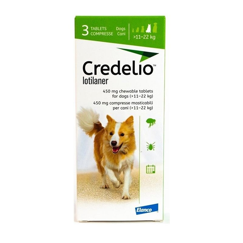 Credelio 450 Mg (11 - 22 Kg), 3 Tablete