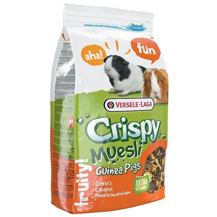 Meniu porcusori Guineea, Versele-Laga, crispy muesli, 1kg imagine