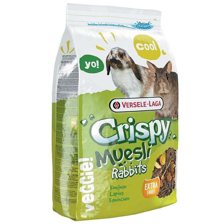 Meniu iepuri, Versele-Laga Crispy Muesli, 20 kg imagine