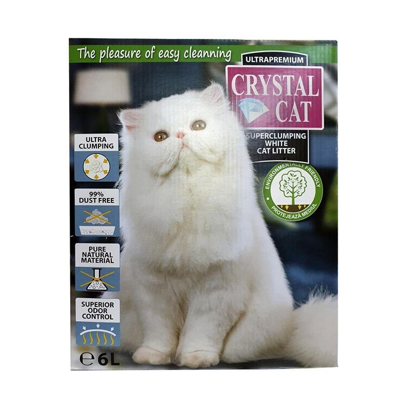 Crystal Cat Bentonita, 6 l imagine
