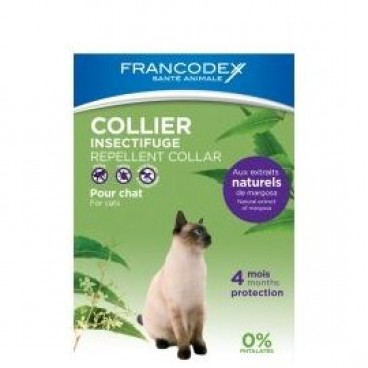 Zgarda Francodex Antiparazitara Pisica 35 cm