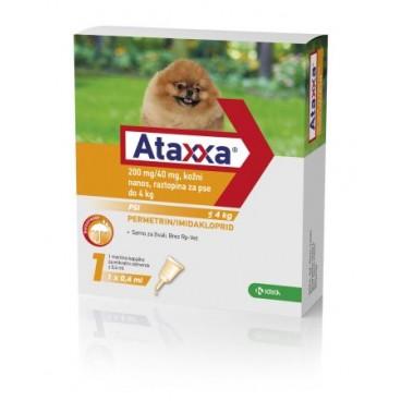 Ataxxa Caine <4kg- 4 pipete 0.4ml
