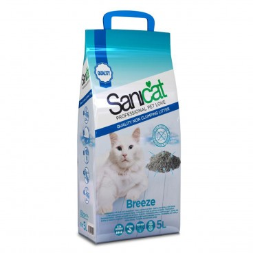 Sanicat Breeze 5 Litri - nisip igienic