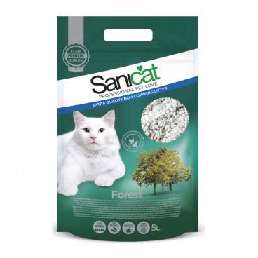 Sanicat Forest 5 Litri - nisip igienic