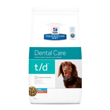Hill's PD t/d Dental Care Mini hrana pentru caini 3 kg
