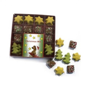CHRISTMAS COOKIE MIX Cutie cu 32 de biscuiti