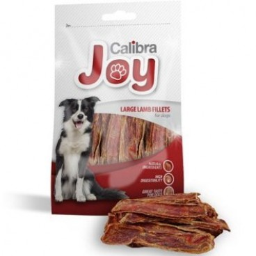 Joy Treats DOG Large Lamb Fillets 80 g