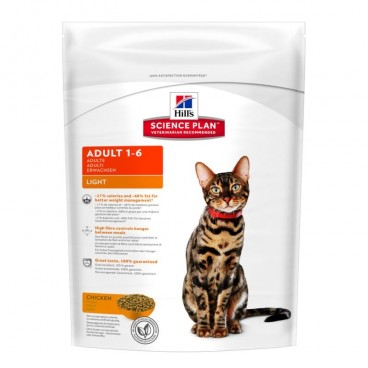Hill's SP Adult Light hrana pentru pisici cu pui 300 g