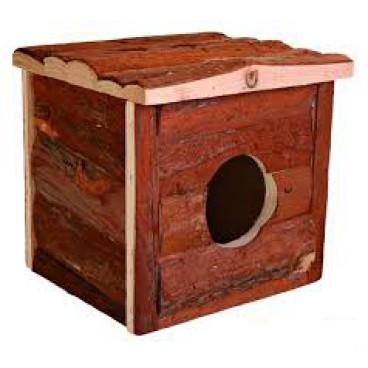 Casuta Lemn Hamster Jerrik 15x14x13 cm