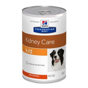 Hill's PD k/d Kidney Care hrana pentru caini 370 g