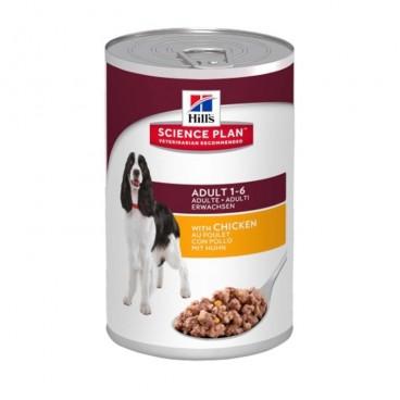 Hills SP Adult hrana pentru caini cu pui 370 g