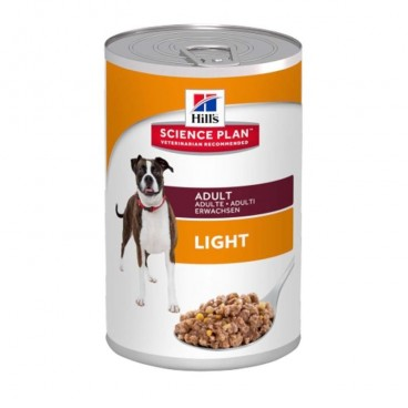 Hill's SP Adult Light hrana pentru caini cu pui 370 g