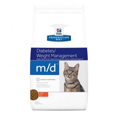 Hill's PD m/d Diabetes, Weight Management hrana pentru pisici 1.5 kg