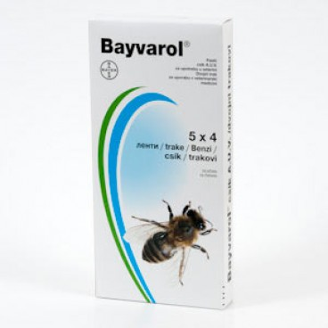 BAYVAROL STRIPS plic x 4 benzi