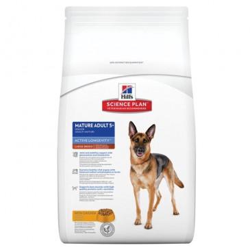 Hill's SP Mature Adult 5 Plus Active Longevity Large Breed hrana pentru caini cu pui 12 kg