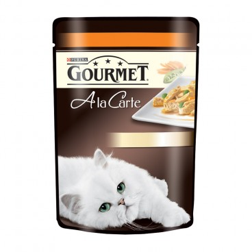 Gourmet A LA CARTE Curcan si Legume 85 g