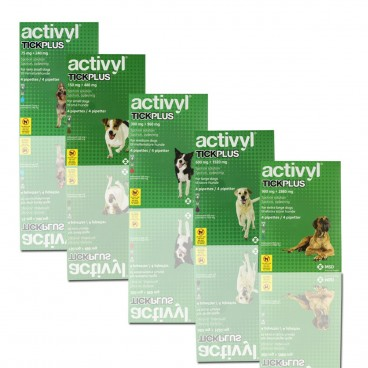Activyl tick plus M (10-20kg) x 4pipeta