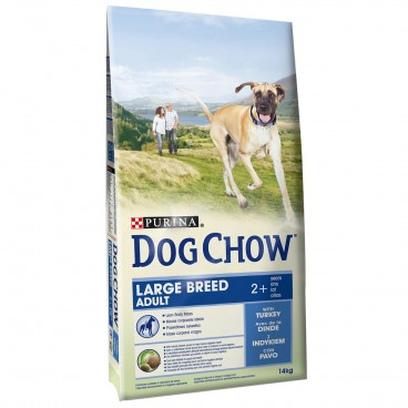 Dog Chow Adult Large Breed Turkey 14 Kg