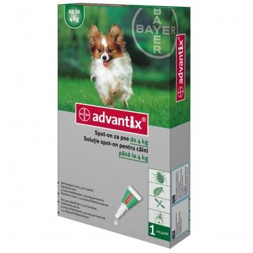 Advantix 40 | Pipeta antiparazitara Advantix 40 pentru caini