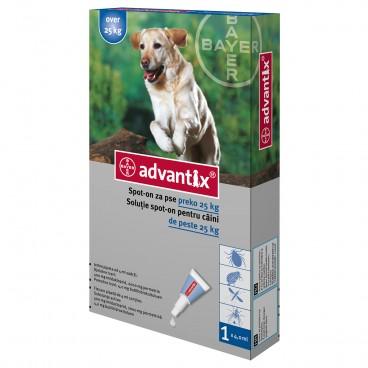 Advantix 400 | Pipeta antiparazitara Advantix pentru caini de 25-40 kg 1 pipeta