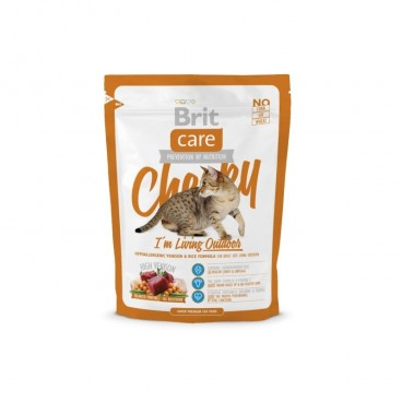 Brit Care Cat Cheeky Living Outdoor 400 g