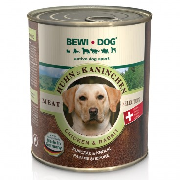 Bewi Dog Pui-Iepure Conserva 800 G