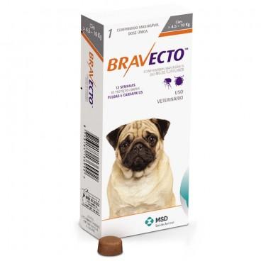 Bravecto (4,5-10 kg) 1 tbl x 250 mg