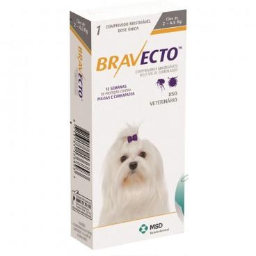 Bravecto (2-4,5 kg) 1 tblx 112,50 mg