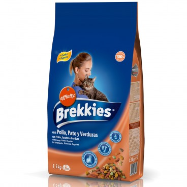 Brekkies Excel Cat Mix Pui 1.5 kg