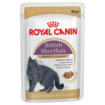 Royal Canin British Shorthair 6 plicuri X 85 g