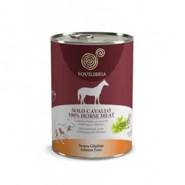 EQUILIBRIA Dog - 100% carne de CAL - 410 g -conserva