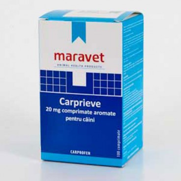 Carprieve Flavoured 20 mg 10 tab