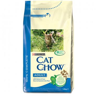 Cat Chow Adult Ton, Somon