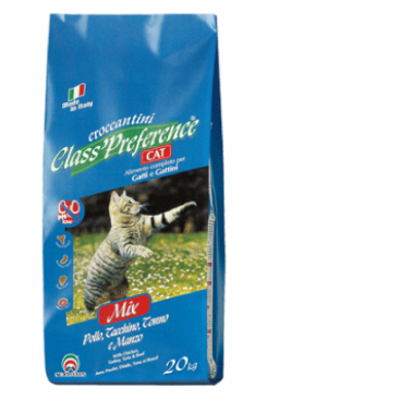 CLASS PREFERENCE CAT CHICKEN/TURKEY/TUNA 20 Kg