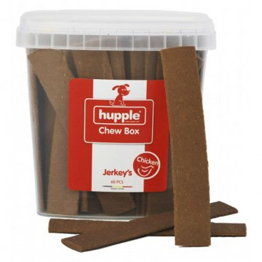 Hupple Chews Box Jerkeys Chicken 60 Buc