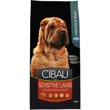 Cibau Dog Sensitive Lamb Medium-Maxi 12 Kg
