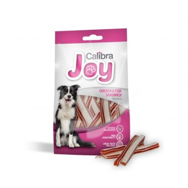 Joy Treats DOG Chicken and Fish Sandwich 80 g