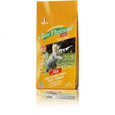CLASS PREFERENCE CAT CHICKEN/TURKEY/VEG 20 Kg