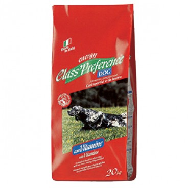 CLASS PREFERENCE DOG ENERGY 20 KG