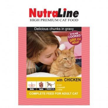 Nutraline Classic Pisica Pui 100 g